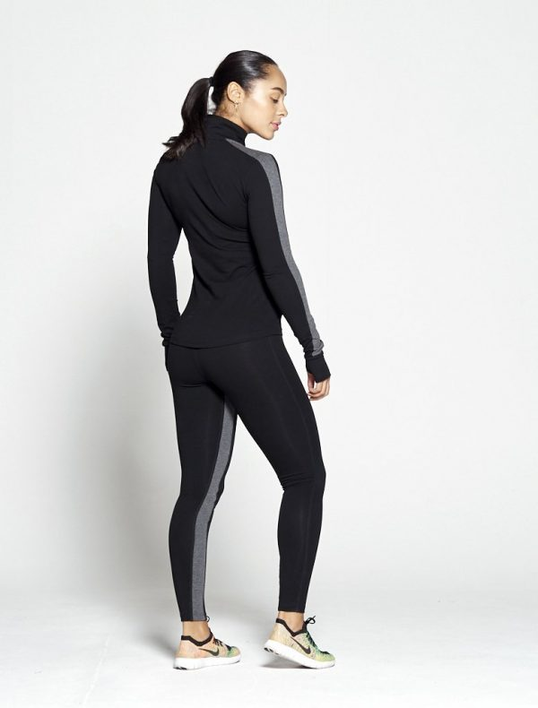 Fitness Legging Dames Profit Zwart Grijs - Pursue Fitness 2