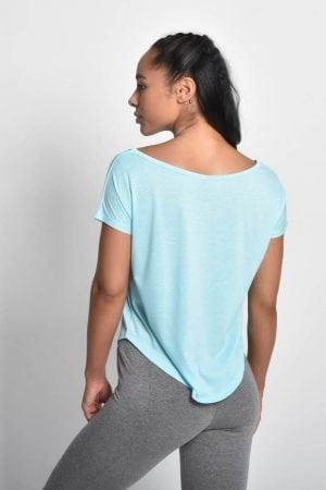 Fitness Shirt Flow Blauw - Pursue Fitness 2