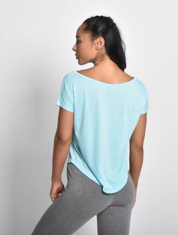 Fitness Shirt Flow Blauw - Pursue Fitness 2