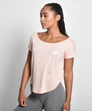 Fitness Shirt Flow Roze - Pursue Fitness 1