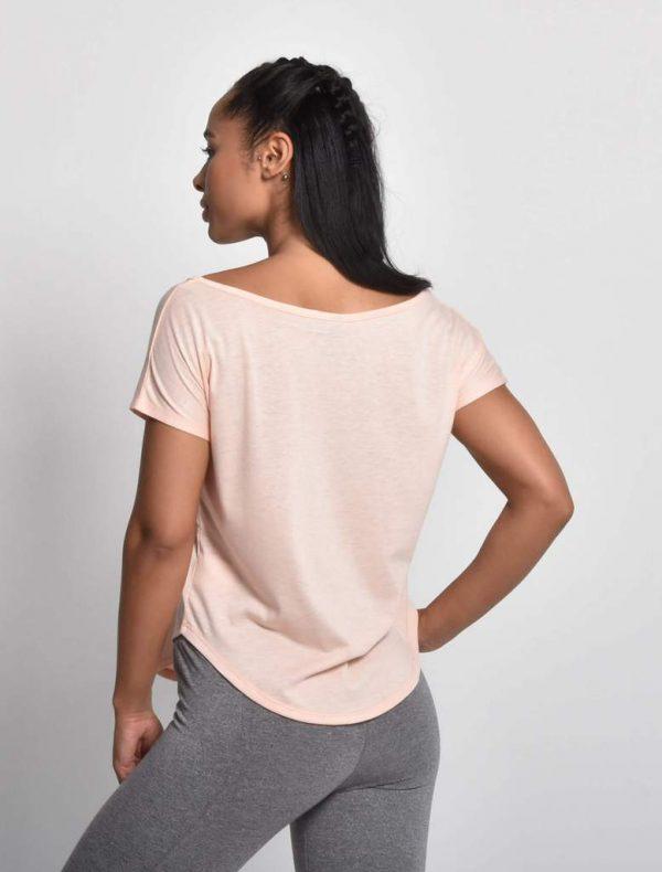 Fitness Shirt Flow Roze - Pursue Fitness 2