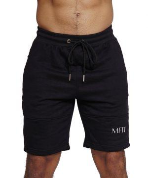 Fitness Short Comfort Heren Zwart - Mfit-1