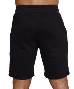 Fitness Short Comfort Heren Zwart - Mfit-2