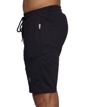 Fitness Short Comfort Heren Zwart - Mfit-3