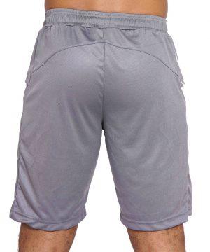 Fitness Short Heren Basic Grijs - Mfit-2