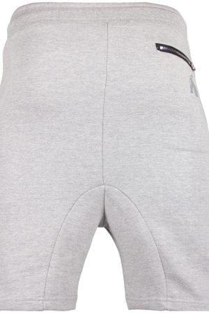 Fitness Shorts Heren Grijs - Gorilla Wear Alabama Drop Crotch-2