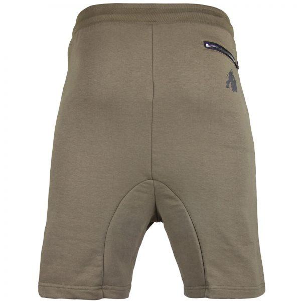 Fitness Shorts Heren Groen - Gorilla Wear Alabama Drop Crotch-2