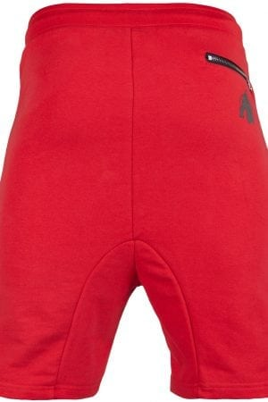 Fitness Shorts Heren Rood - Gorilla Wear Alabama Drop Crotch-2
