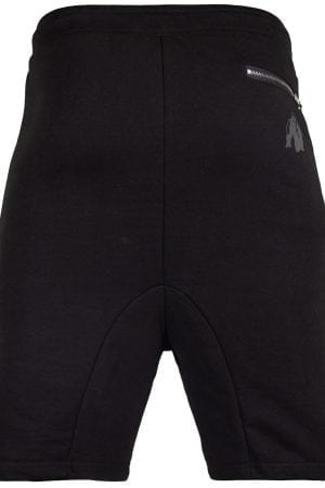 Fitness Shorts Heren Zwart - Gorilla Wear Alabama Drop Crotch-2