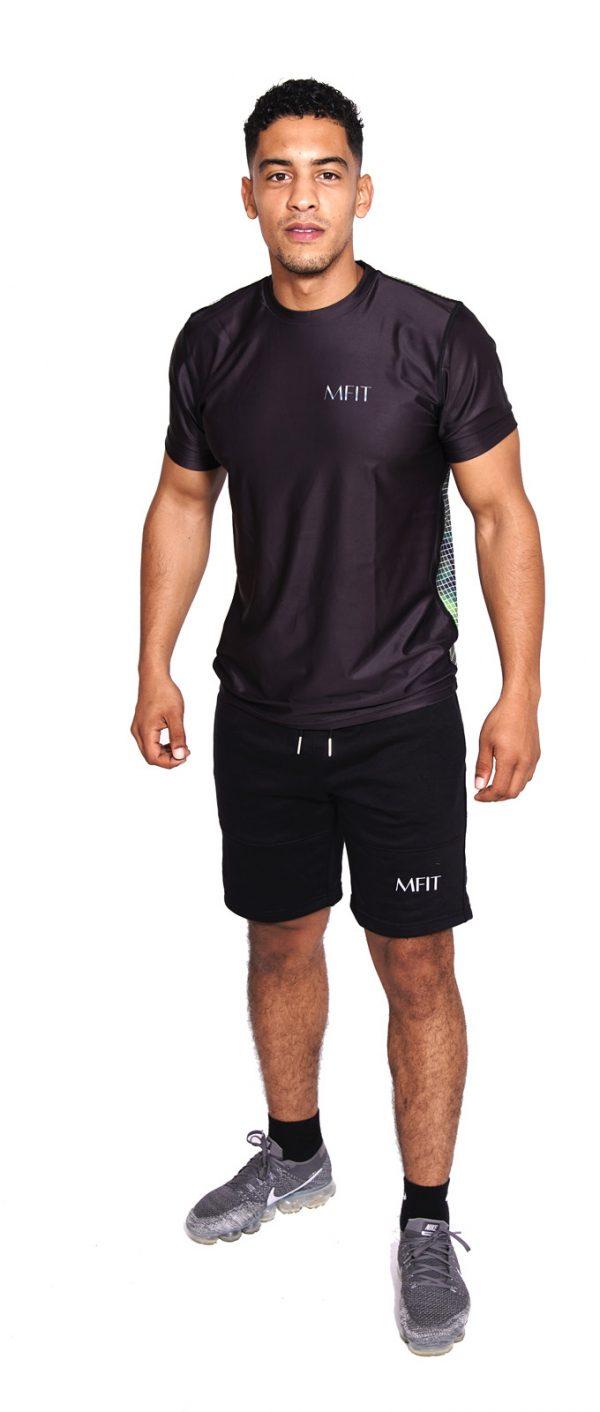 Fitness T-shirt Heren Compressie Camo - Mfit-1
