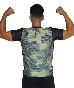 Fitness T-shirt Heren Compressie Camo - Mfit-2