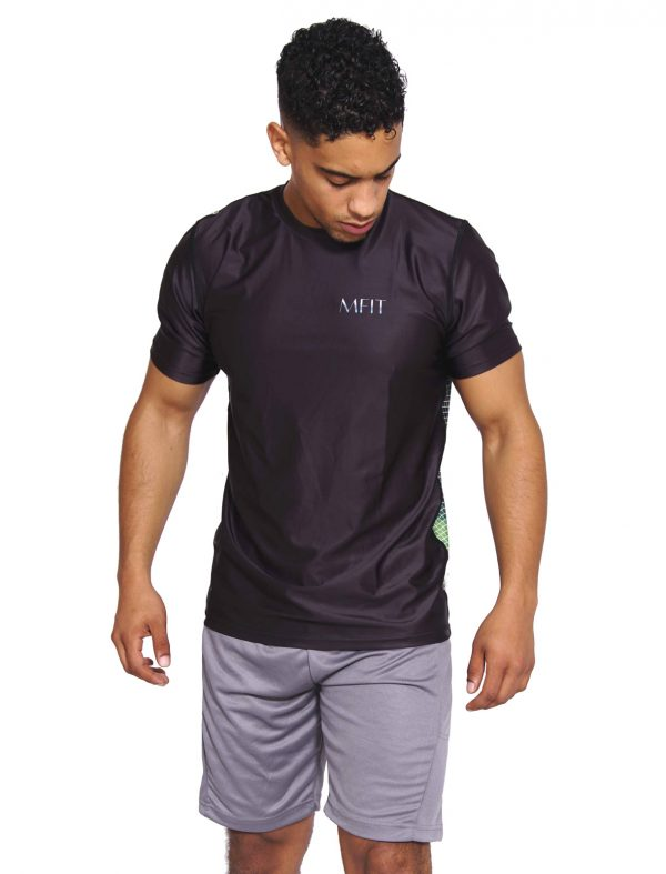 Fitness T-shirt Heren Compressie Camo - Mfit-3
