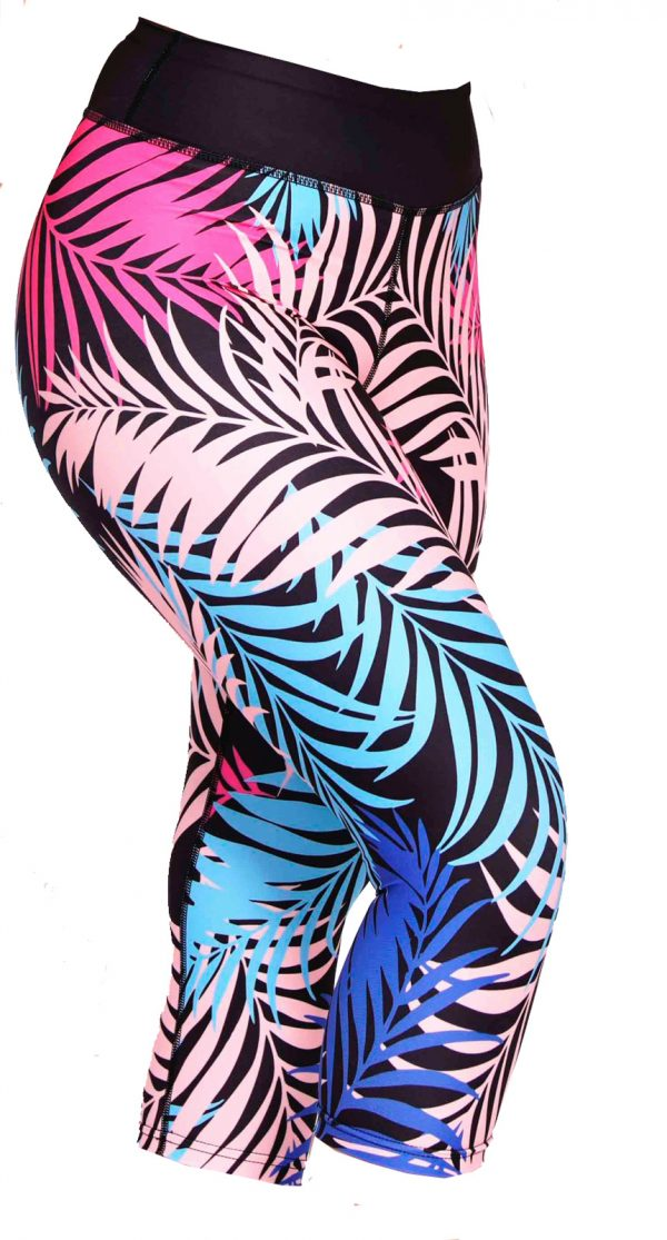 Fitness legging Dames Feather Multi - Mfit-3