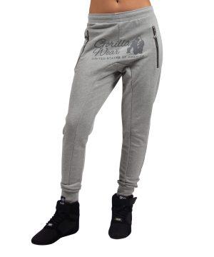 Fitnessbroek Dames Grijs - Gorilla Wear Celina-1