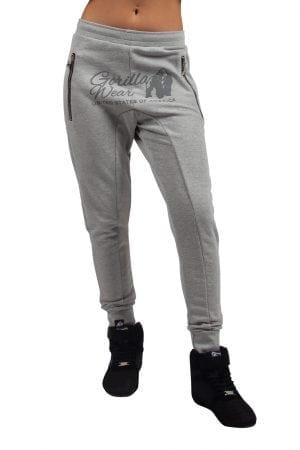 Fitnessbroek Dames Grijs - Gorilla Wear Celina-2