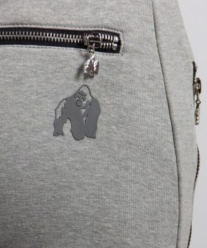 Fitnessbroek Dames Grijs - Gorilla Wear Celina-3