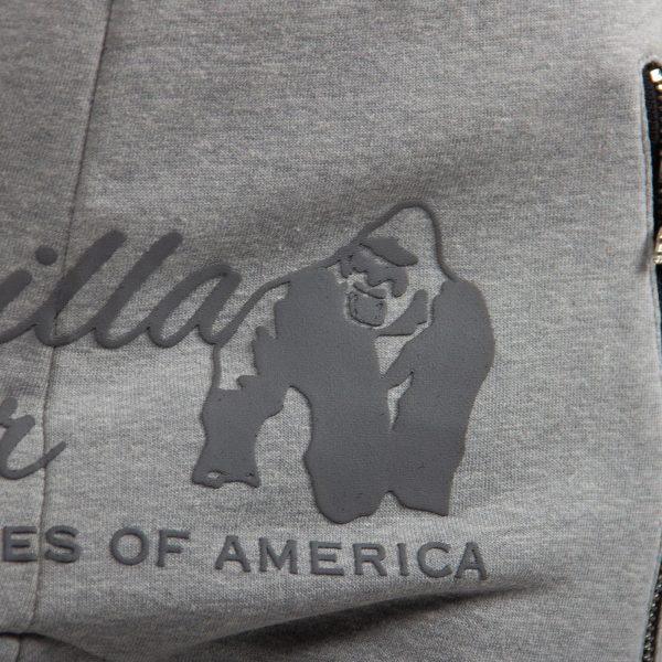 Fitnessbroek Dames Grijs - Gorilla Wear Celina-4
