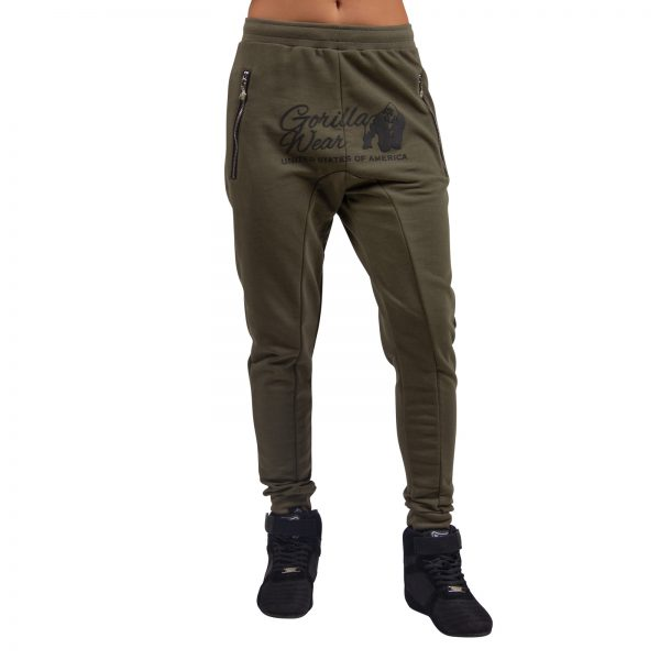 Fitnessbroek Dames Groen - Gorilla Wear Celina-2