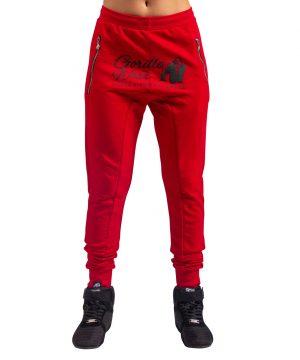 Fitnessbroek Dames Rood - Gorilla Wear Celina-1
