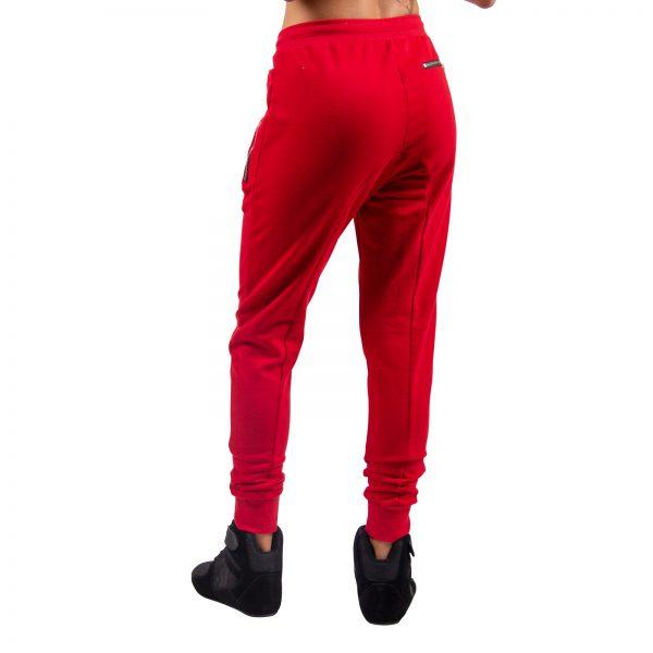 Fitnessbroek Dames Rood - Gorilla Wear Celina-2