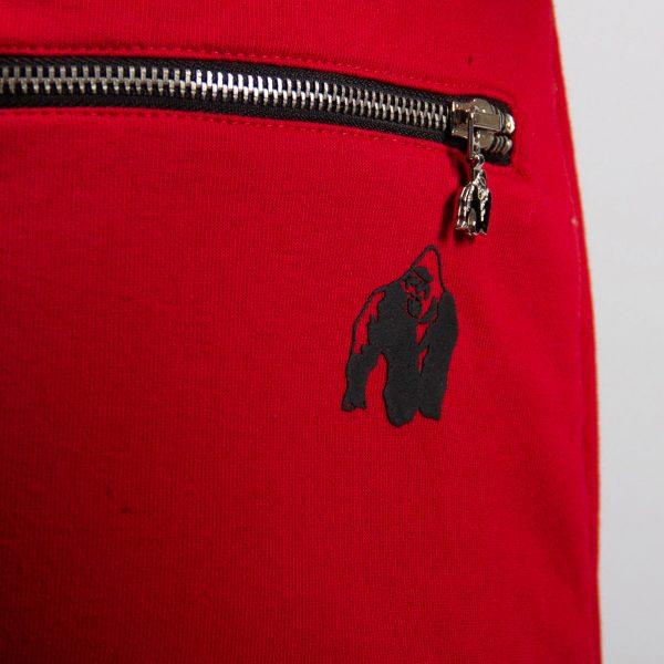 Fitnessbroek Dames Rood - Gorilla Wear Celina-3