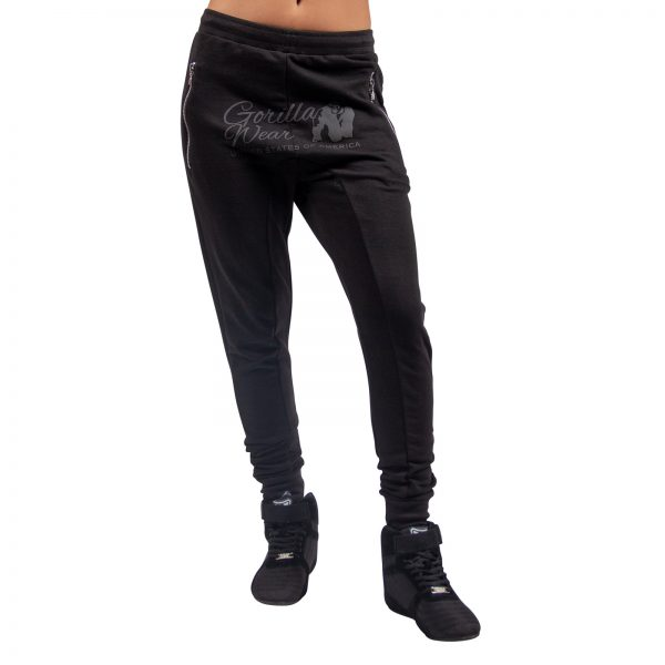 Fitnessbroek Dames Zwart - Gorilla Wear Celina-1
