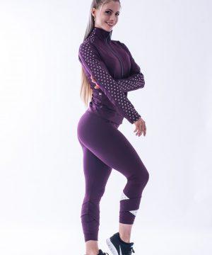 Sportlegging Dames Nebbia 639 Rood-Vanille -3