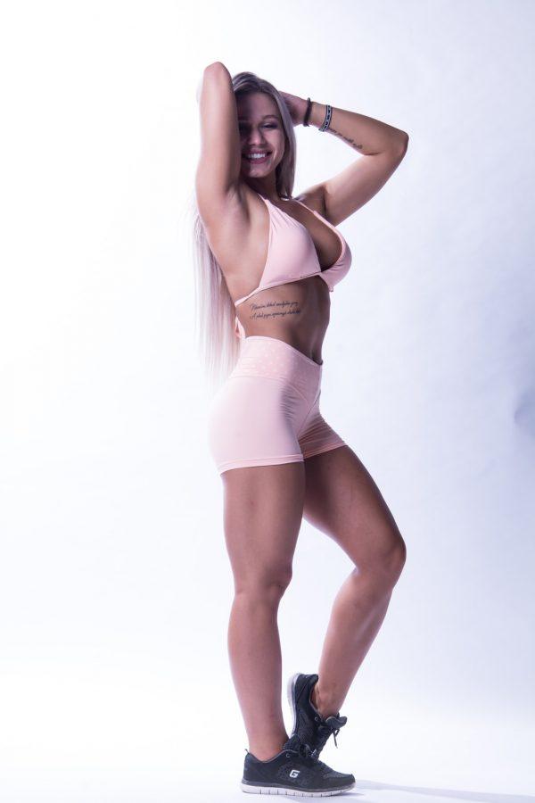 Sportshort Dames Nebbia 648 Zalm -1