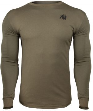 Fitness Longsleeve Groen - Gorilla Wear Williams 1