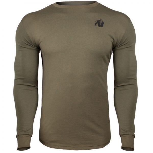 Fitness Longsleeve Groen - Gorilla Wear Williams 1