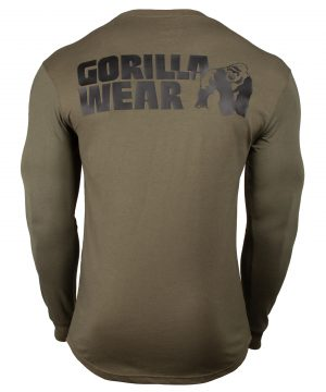 Fitness Longsleeve Groen - Gorilla Wear Williams 2