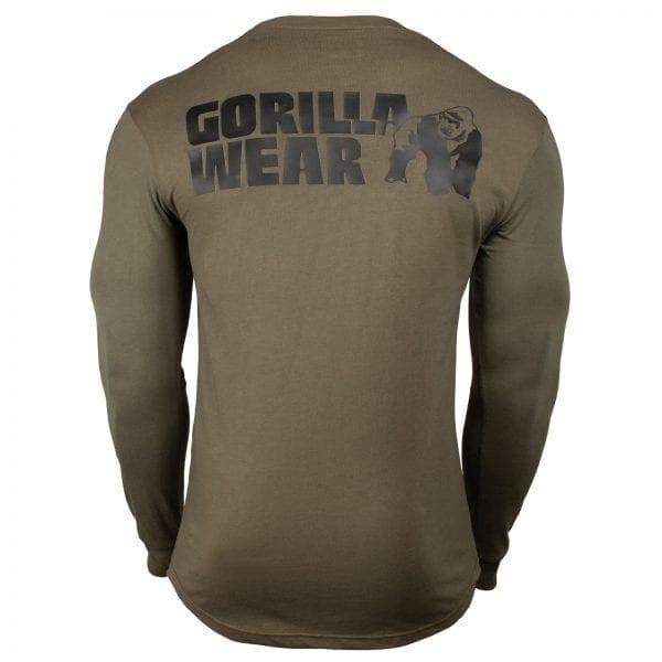 Fitness Longsleeve Groen - Gorilla Wear Williams 2