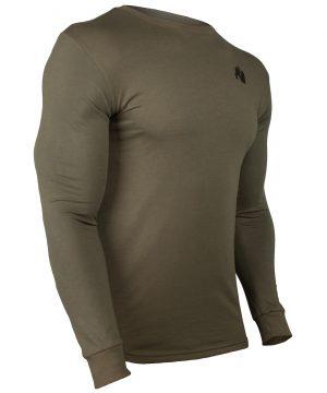 Fitness Longsleeve Groen - Gorilla Wear Williams 3