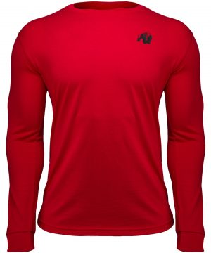 Fitness Longsleeve Rood - Gorilla Wear Williams 1