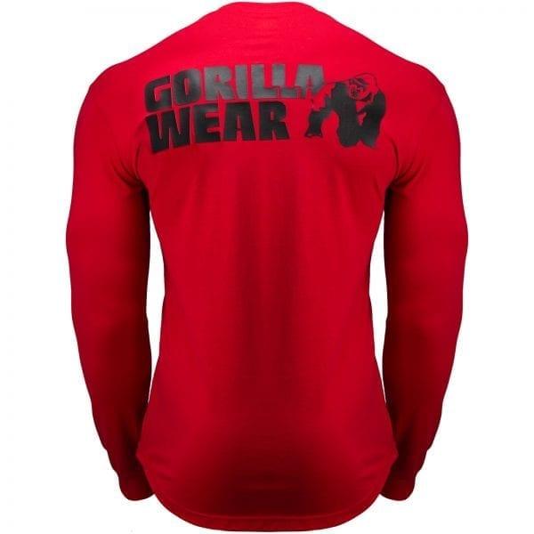 Fitness Longsleeve Rood - Gorilla Wear Williams 2