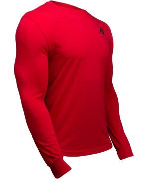 Fitness Longsleeve Rood - Gorilla Wear Williams 3