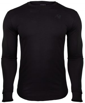 Fitness Longsleeve Zwart - Gorilla Wear Williams 1