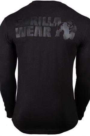 Fitness Longsleeve Zwart - Gorilla Wear Williams 2