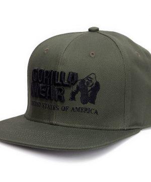 Fitness Pet Groen - Gorilla Wear Dothan Cap 1