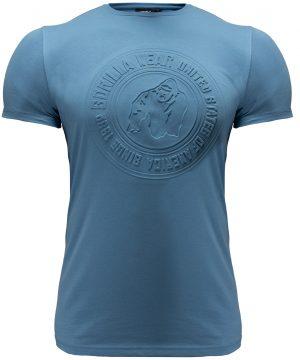 Fitness T-shirt Blauw - Gorilla Wear San Lucas 1