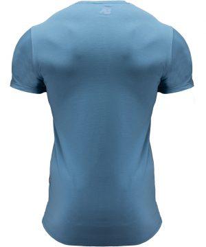 Fitness T-shirt Blauw - Gorilla Wear San Lucas 2