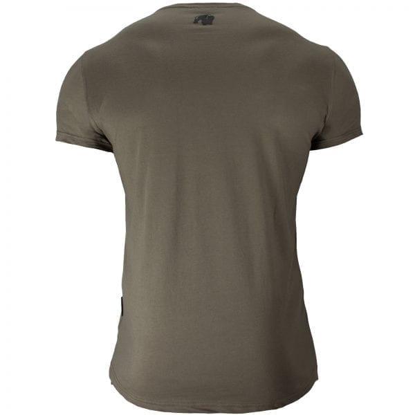 Fitness T-shirt Groen - Gorilla Wear Hobbs 2