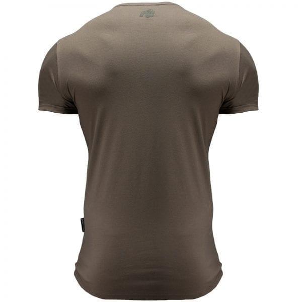 Fitness T-shirt Groen - Gorilla Wear San Lucas 2