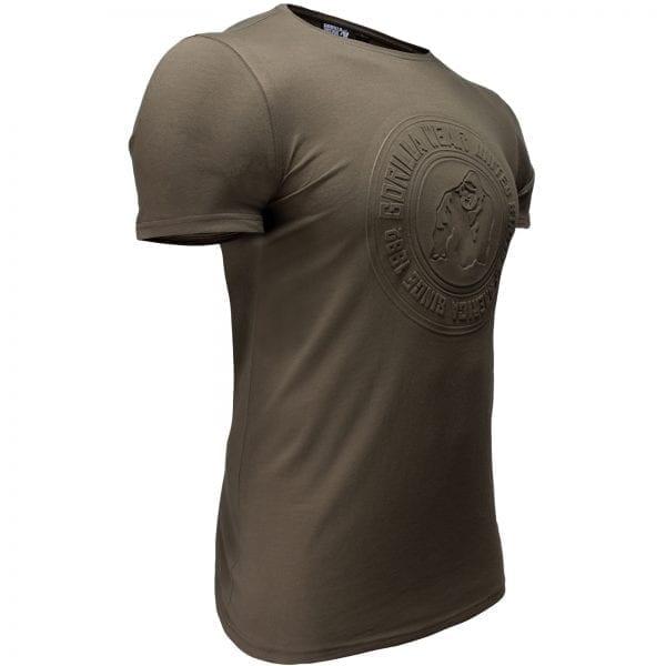 Fitness T-shirt Groen - Gorilla Wear San Lucas 3