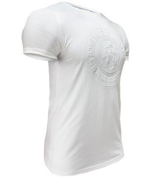 Fitness T-shirt Wit - Gorilla Wear San Lucas 2