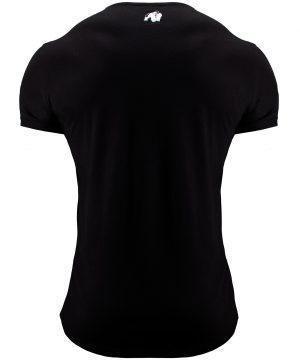 Fitness T-shirt Zwart - Gorilla Wear Hobbs 2