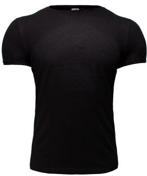 Fitness T-shirt Zwart - Gorilla Wear San Lucas 1