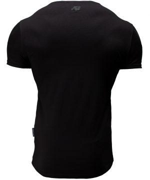 Fitness T-shirt Zwart - Gorilla Wear San Lucas 2