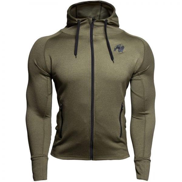 Fitness Vest Groen - Gorilla Wear Bridgeport 1