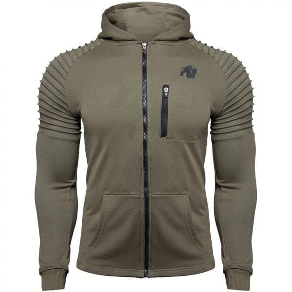 Fitness Vest Groen - Gorilla Wear Delta 1